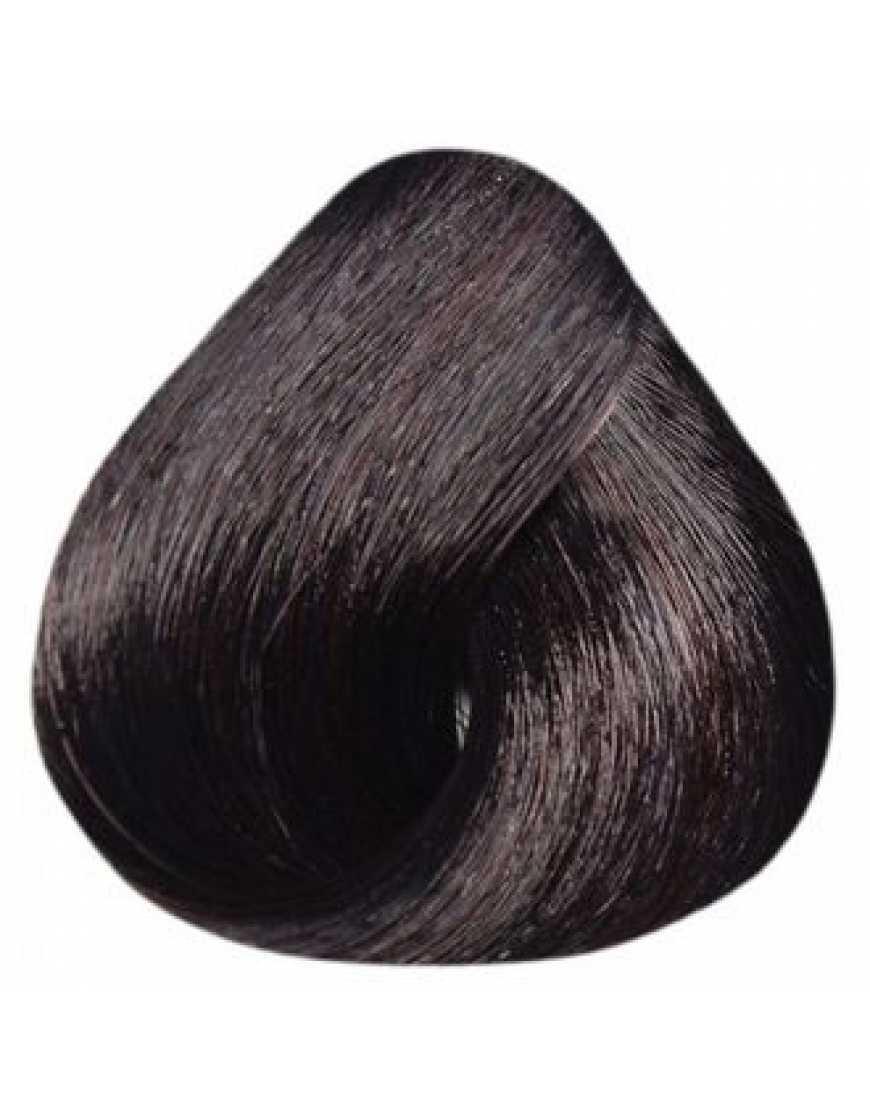 Estel Крем-краска для волос 4/6 DeLux Silver, шатен фиолетовый 60 мл