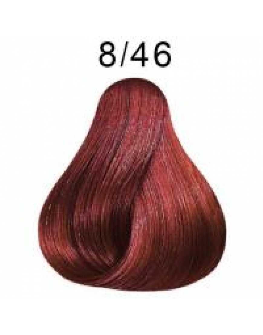 LONDA COLOR  Стойкая крем-краска 8/46 Светлый блонд медно-фиолетовый 60 мл