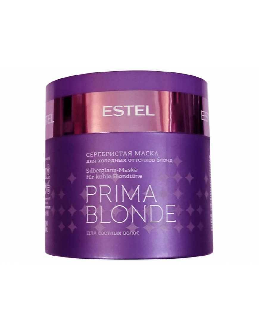 ESTEL Серебристая маска для холодных оттенков блонд Prima Blonde, 300 мл