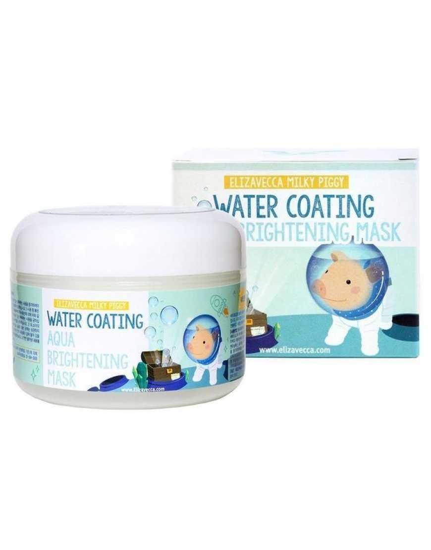 Elizavecca Маска для лица ночная Увлажнение Water Coating Aqua Brightening Mask, 100 мл