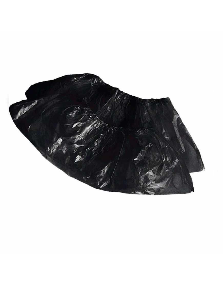 Бахилы п/э черные(стандарт) 50 пар