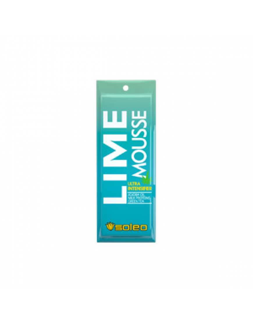 Лосьон для загара Soleo Basic Lime mousse, 15 мл