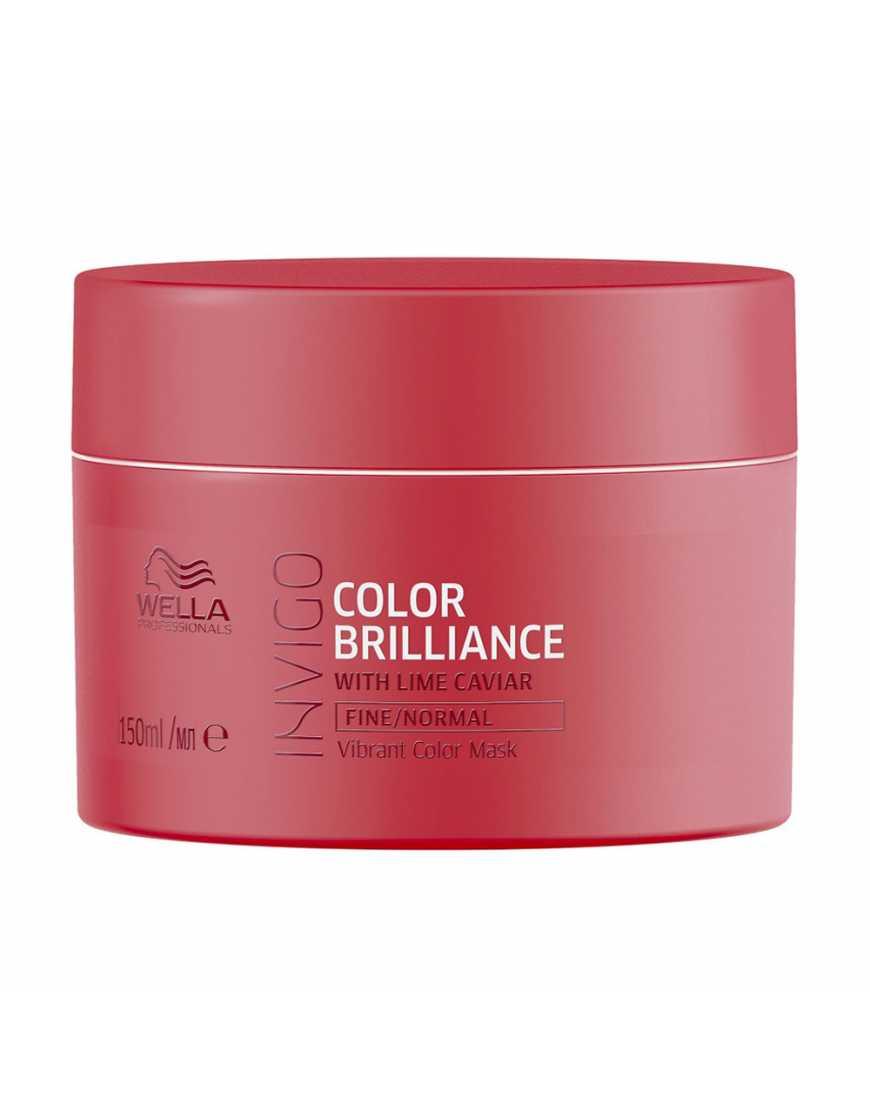 Маска-уход Wella Professionals Invigo Color Brilliance для защиты цвета окрашенных нормальных и тонких волос, 150 мл