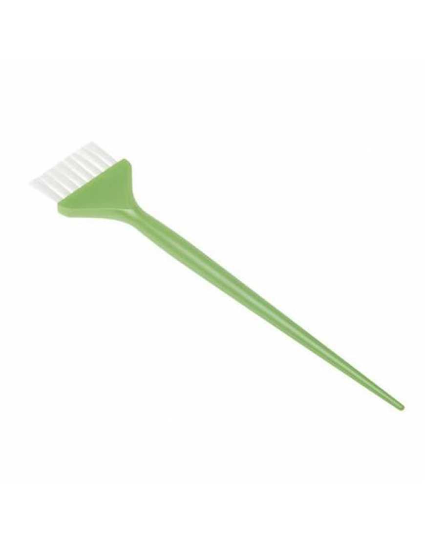 Кисть JPP048-1 DW green д/окраски с белой щетиной узкая