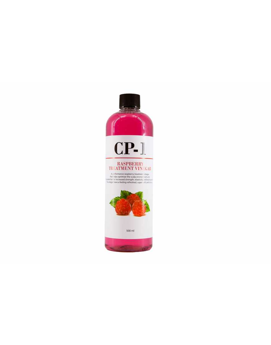 Esthetic House кондиционер-ополаскиватель CP-1 на основе малинового уксуса Rasberry Treatment vinegar, 500 мл