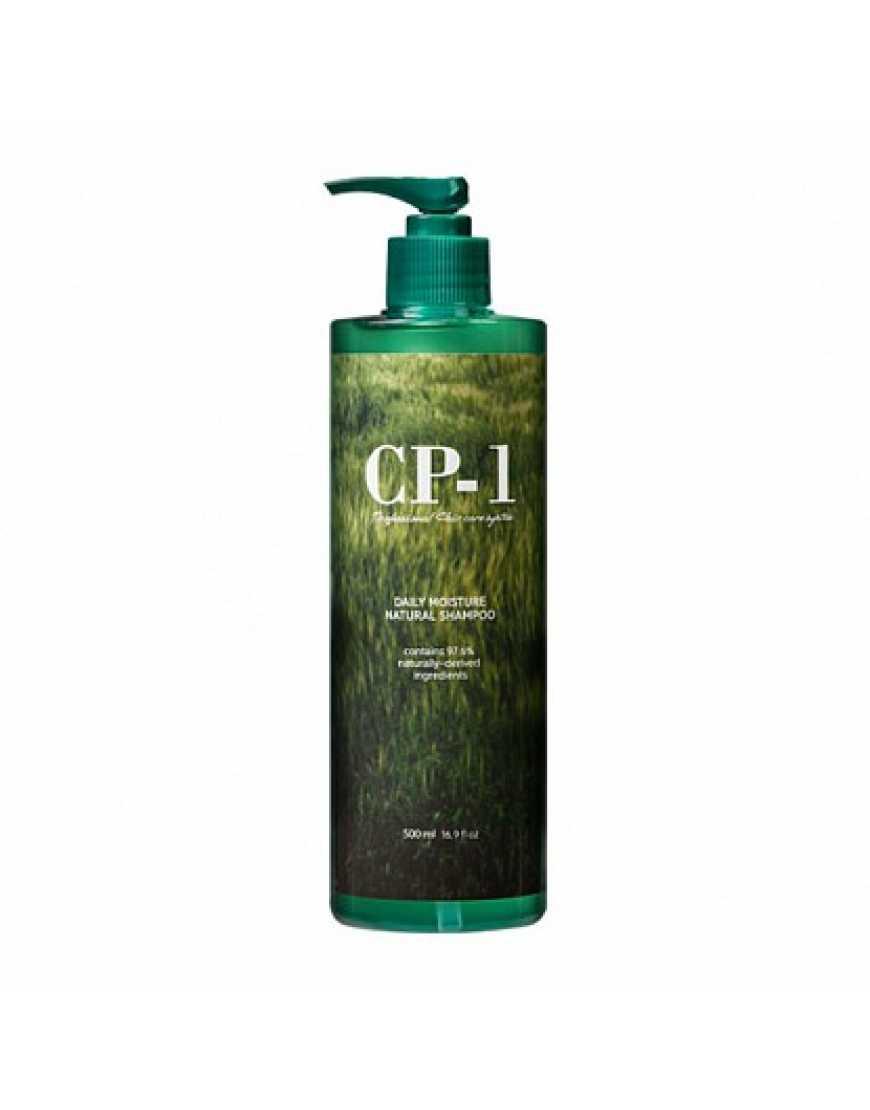 Esthetic House CP-1 Натуральный увлажняющий шампунь для волос Daily Moisture Natural Shampoo, 500 мл