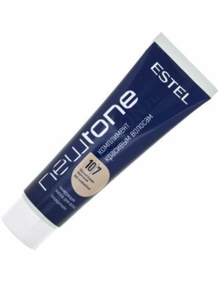 Тонирующая маска для волос NEWTONE ESTEL 10/7 светлый блондин коричневый 60 мл