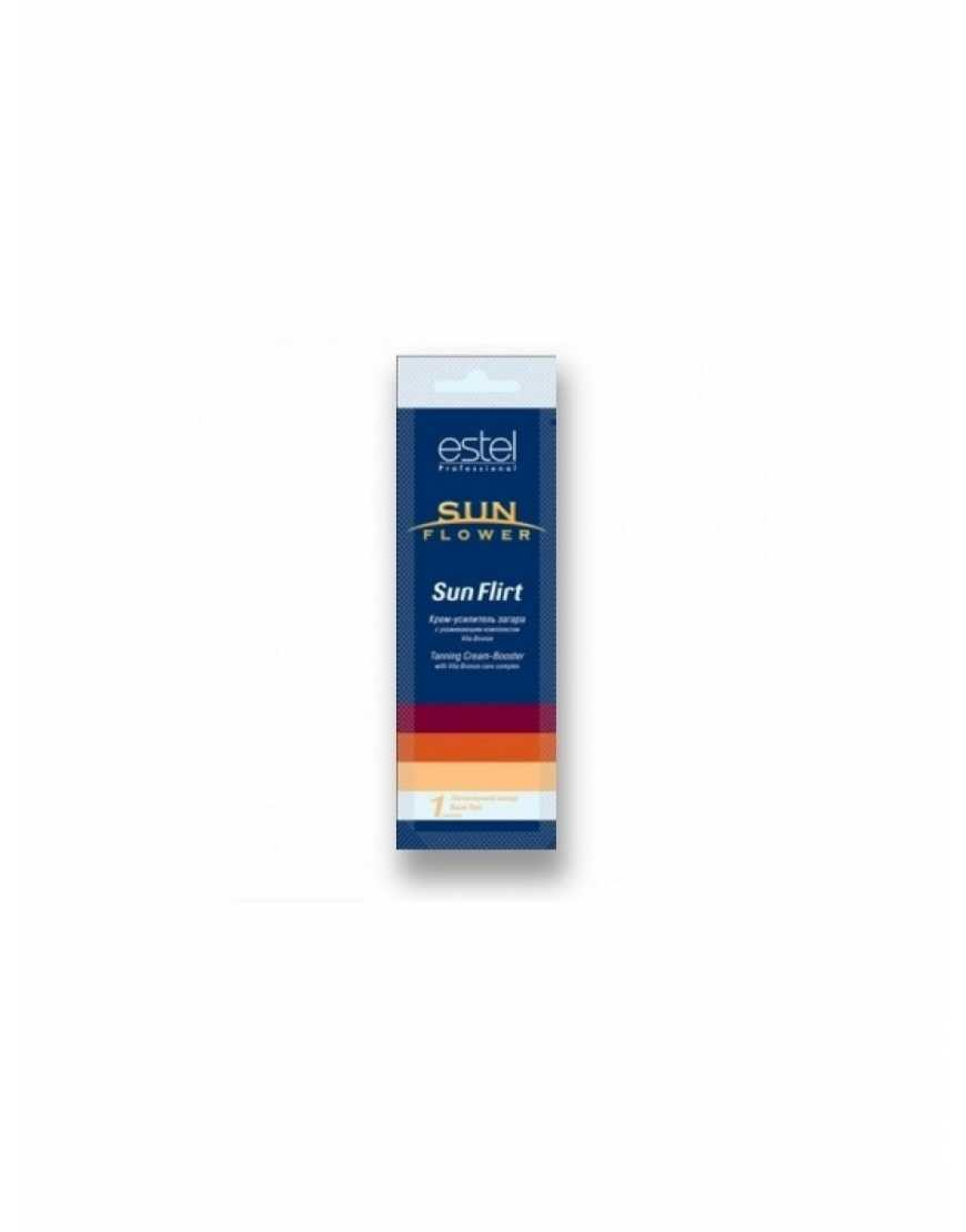 EST SOL/1 Крем-усилитель загара в солярии Sunflower Sun Flirt,15 мл