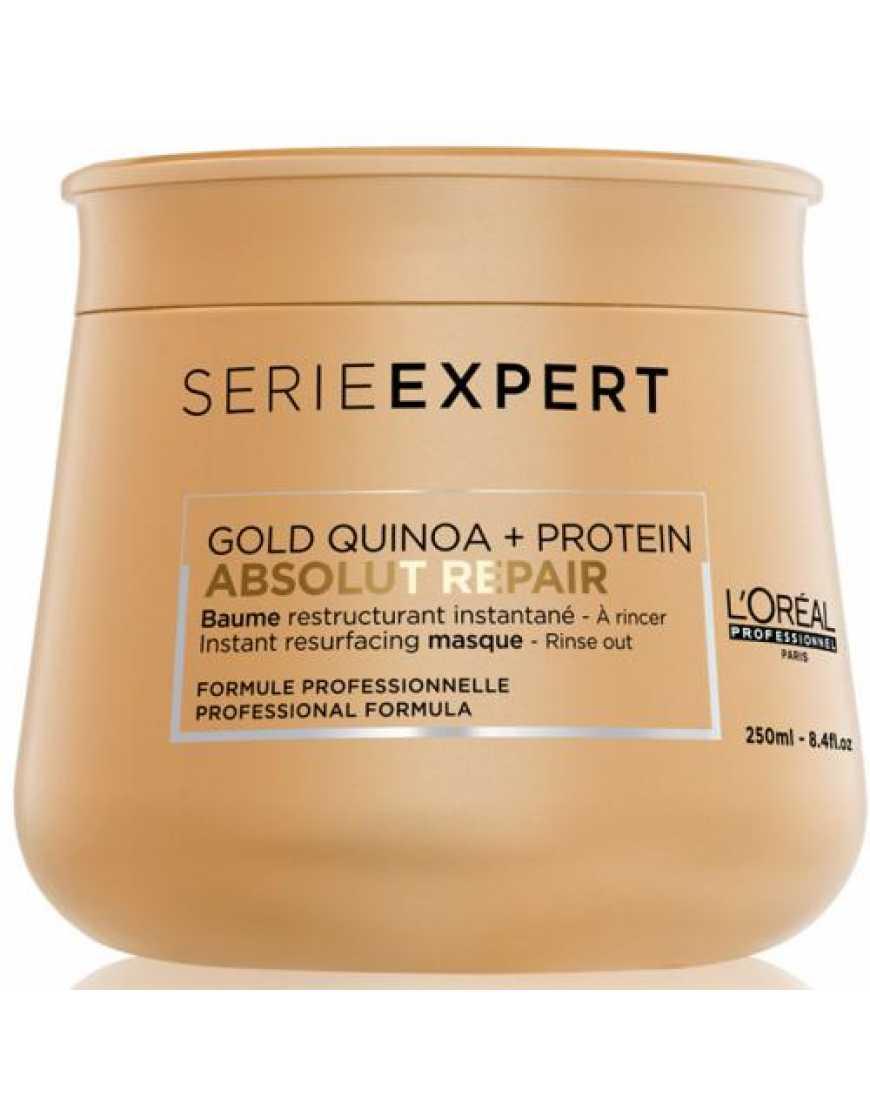 L'Oreal Professionnel Absolut Repair Lipidium Gold маска-крем для интенсивного восстановления волос, 250 мл
