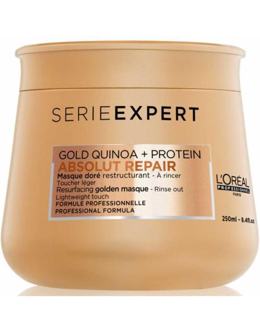 L'Oreal Professionnel Absolut Repair Lipidium Gold маска восстановления волос, 250 мл