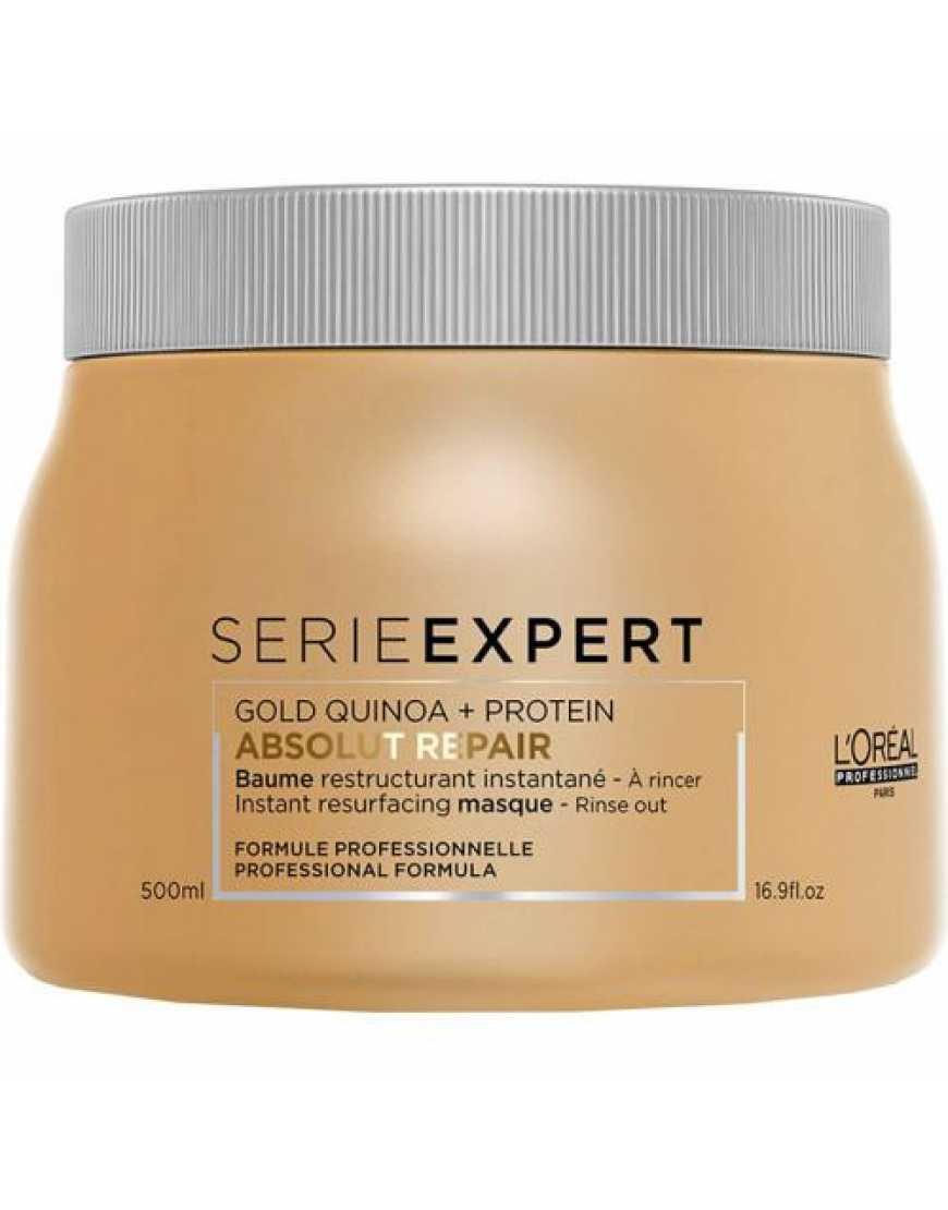 L'Oreal Professionnel Absolut Repair Lipidium Gold маска-крем для интенсивного восстановления волос, 500 мл