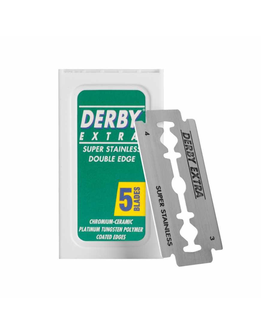 DERBY EXTRA Опасные лезвия (5 целых лезвий)