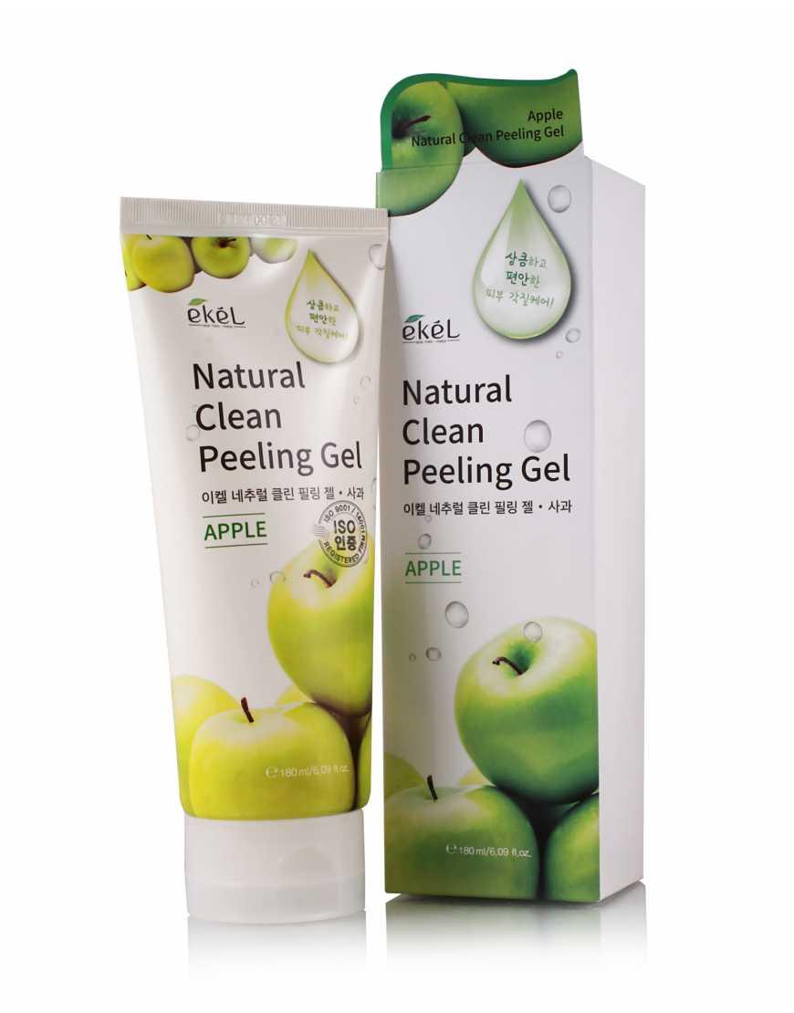 Пилинг-скатка EKEL с экстрактом зеленого яблока,180 мл
