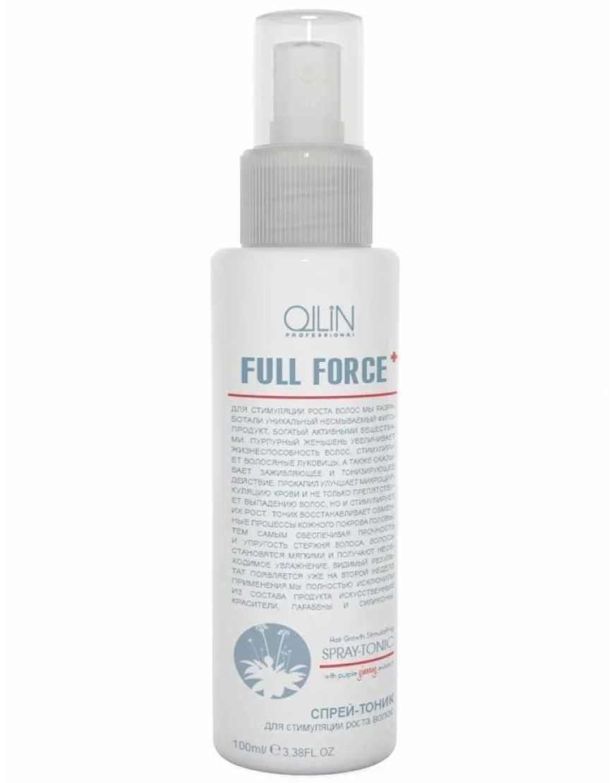 OLLIN Professional Full Force Спрей-тоник для стимуляции роста волос, 100 мл