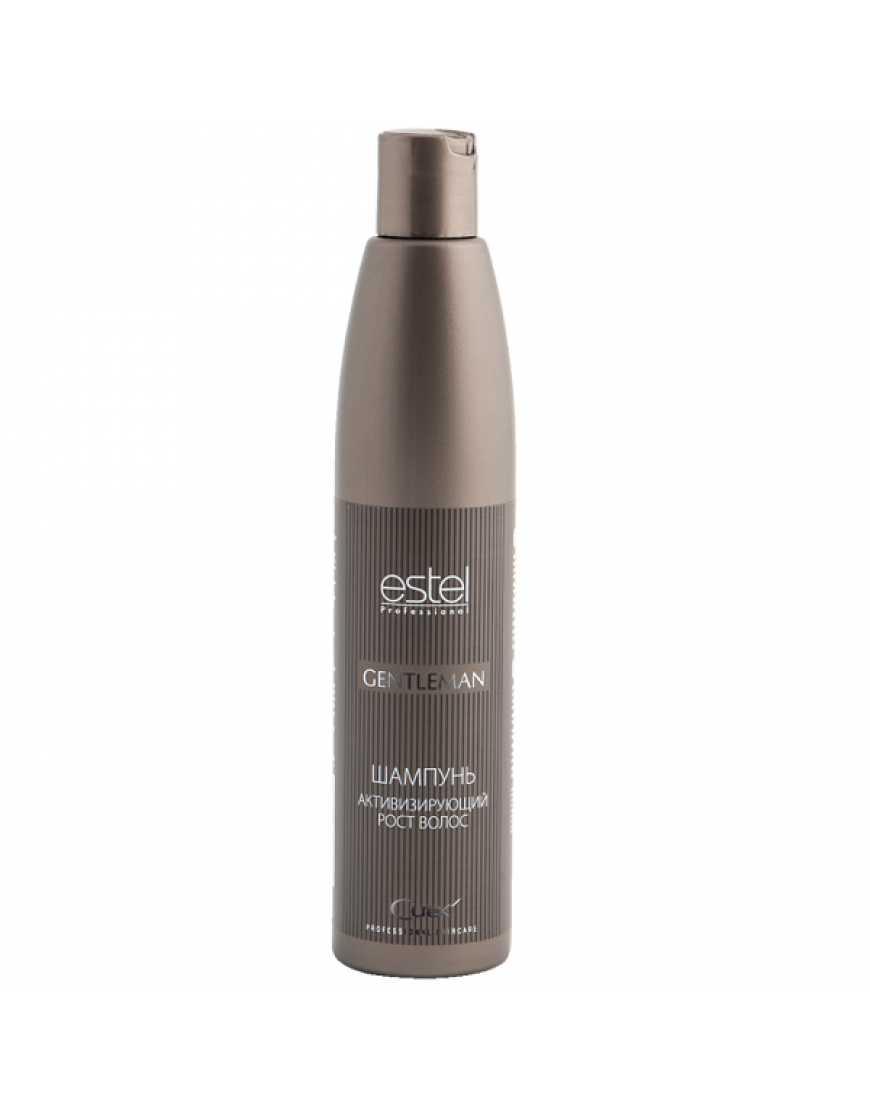 ESTEL Cure Gentleman Шампунь активизирующий рост волос, 300 мл