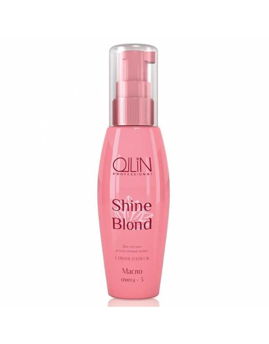 OLLIN SHINE BLOND Масло ОМЕГА-3, 50 мл