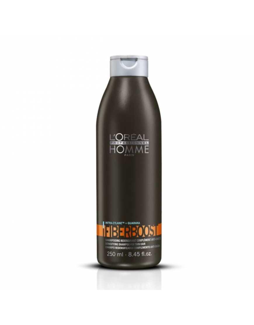 L'Oreal Professionnel Homme Fiberboost Шампунь уплотняющий для волос, 250 мл