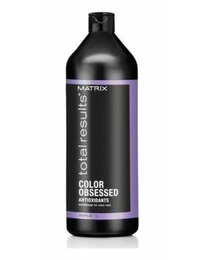 Кондиционер MATRIX Color Obsessed для защиты цвета окрашенных волос, 1000 мл