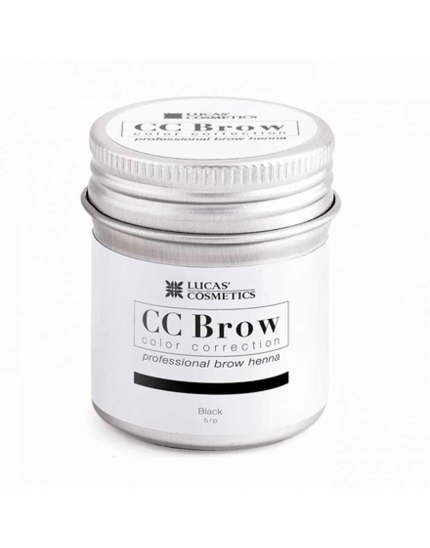 Хна СС Brow (black) для биотатуажа бровей (черный) 5 гр.