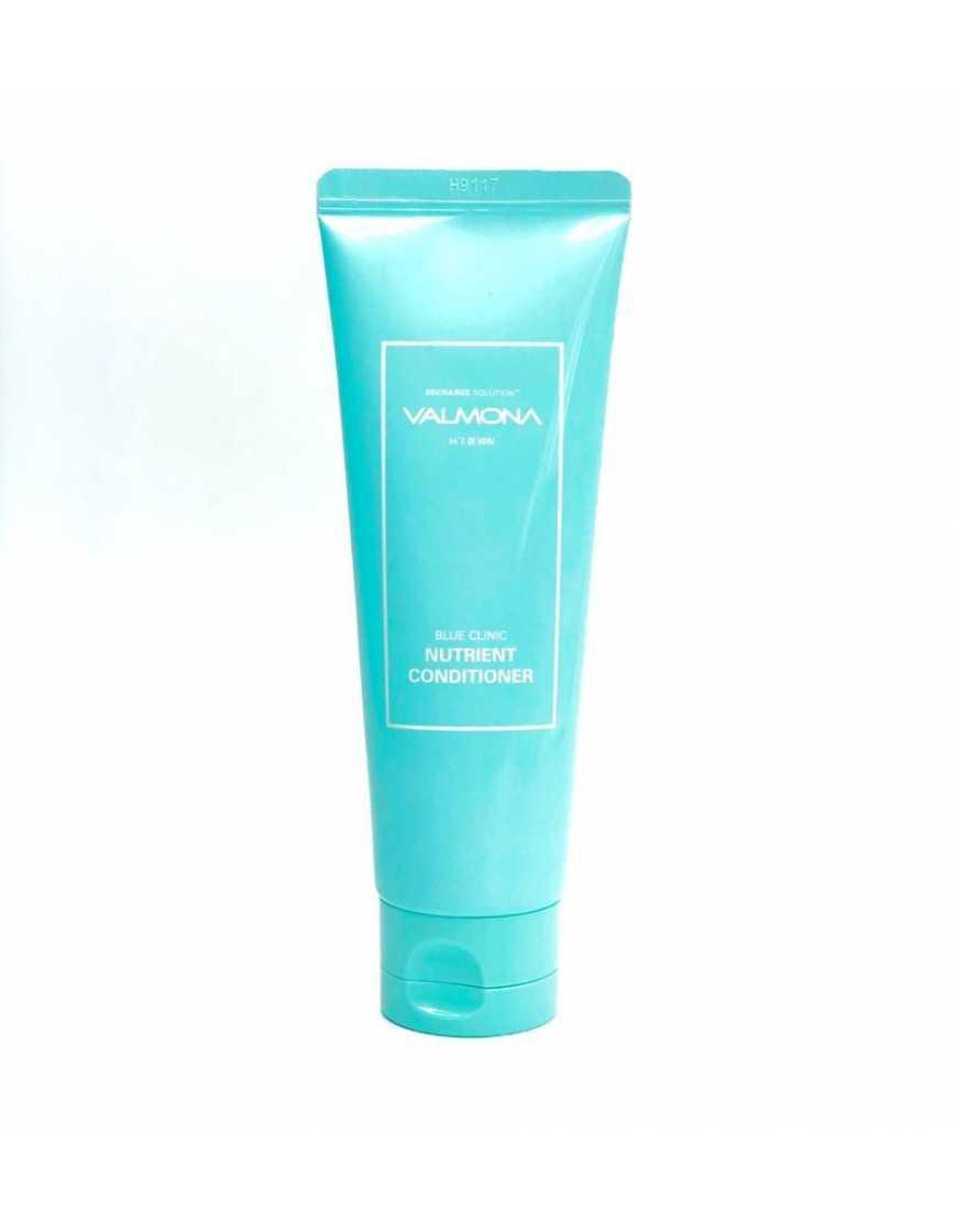 VALMONA Кондиционер для волос Увлажнение Recharge Solution Blue Clinic Nutrient Conditioner,100 мл