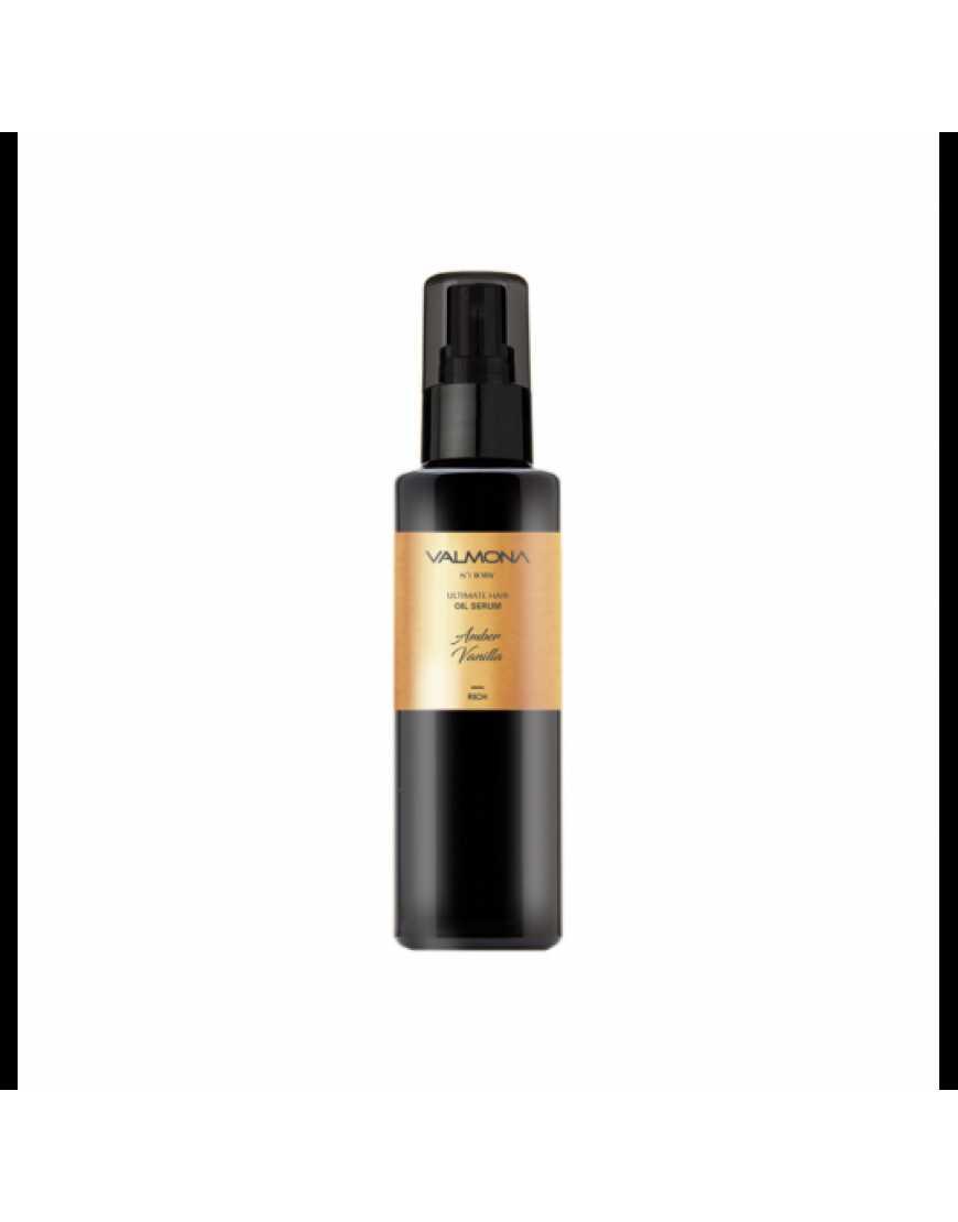VALMONA Сыворотка для волос Ваниль Ultimate hair oil serum (Amber vanilla), 100 мл