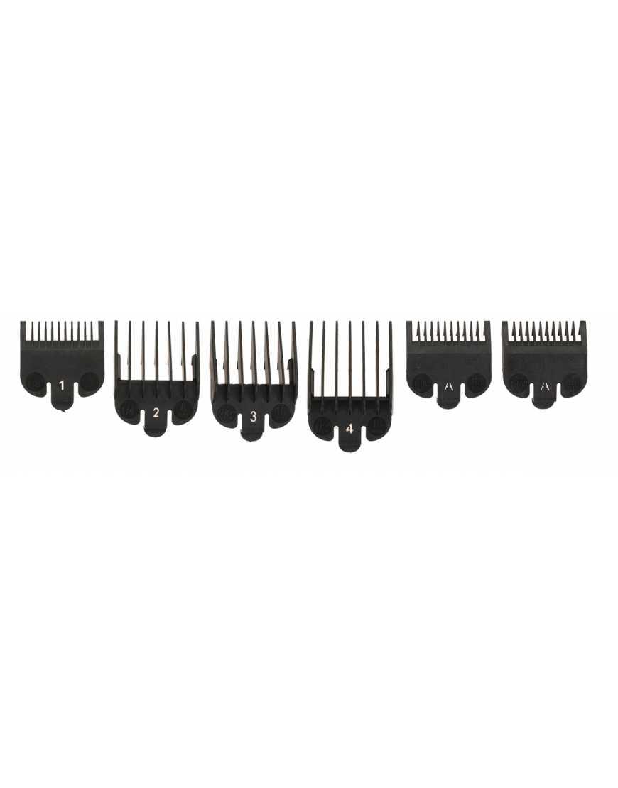 N-077 Набор насадок для машинки  DEWAL (1,5; 3; 4,5; 6; 10; 13 мм)