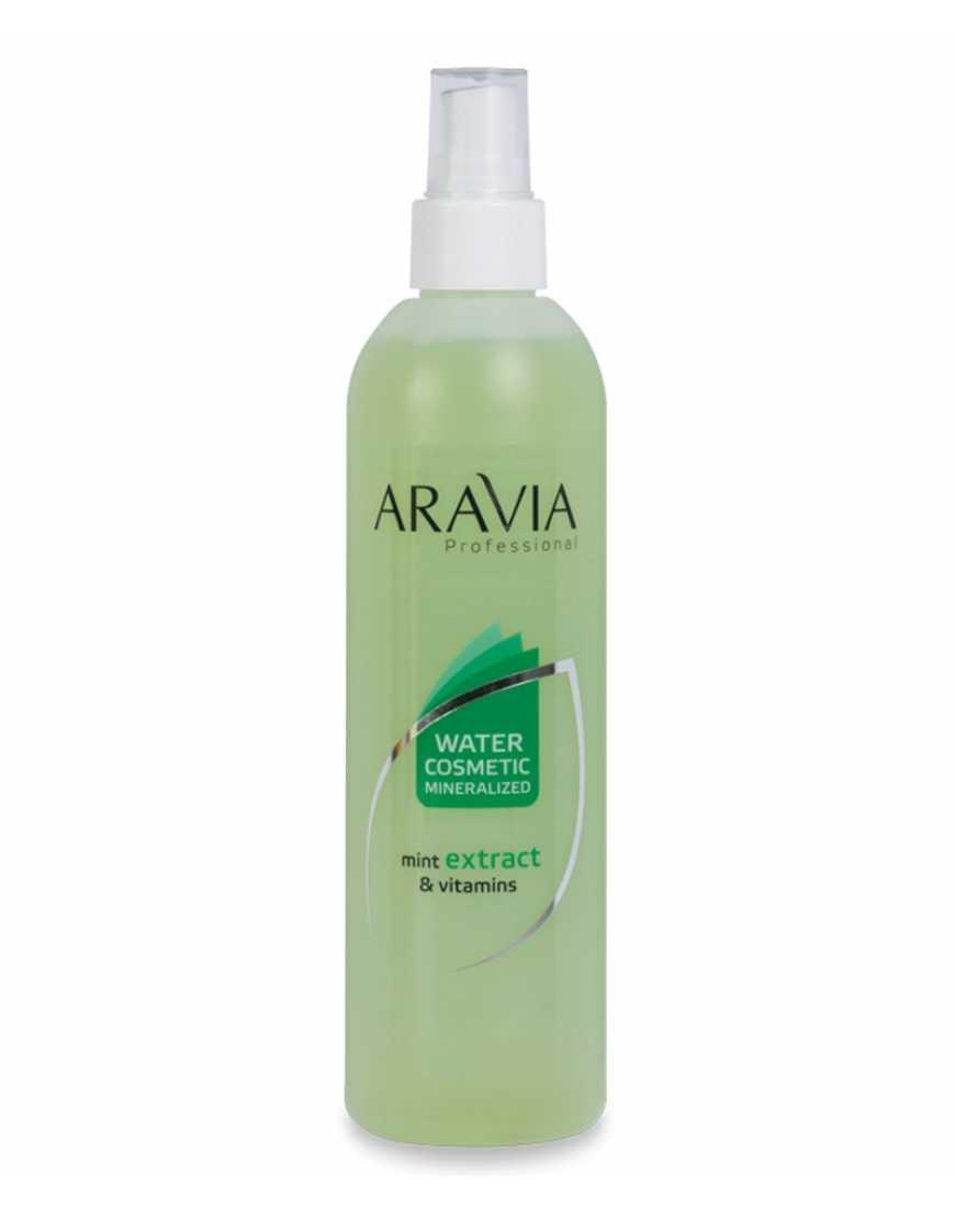 Aravia Professional Термальная вода с мятой и витаминами, 300 мл