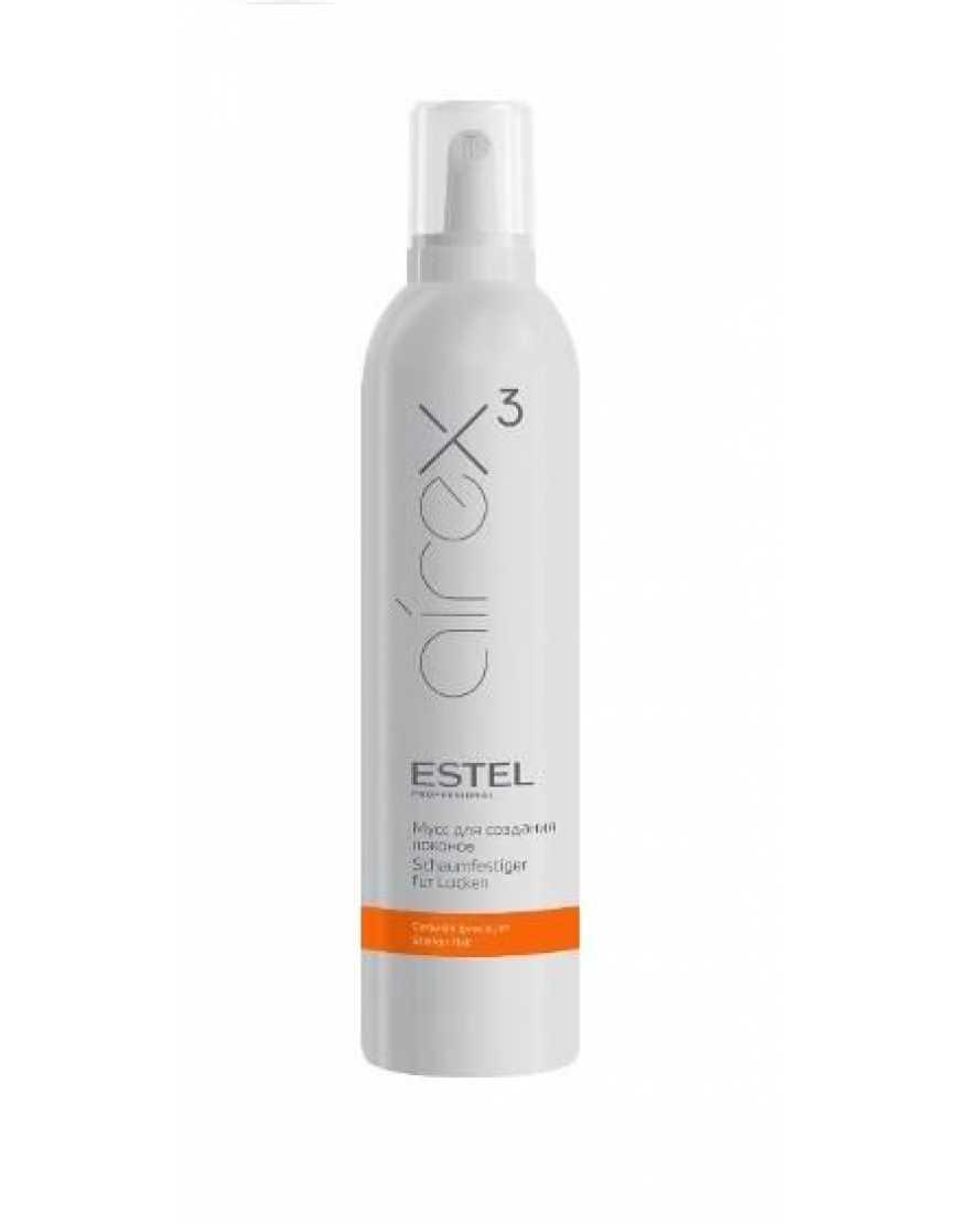 ESTEL Мусс для волос AIREX сильной фиксации 400 мл