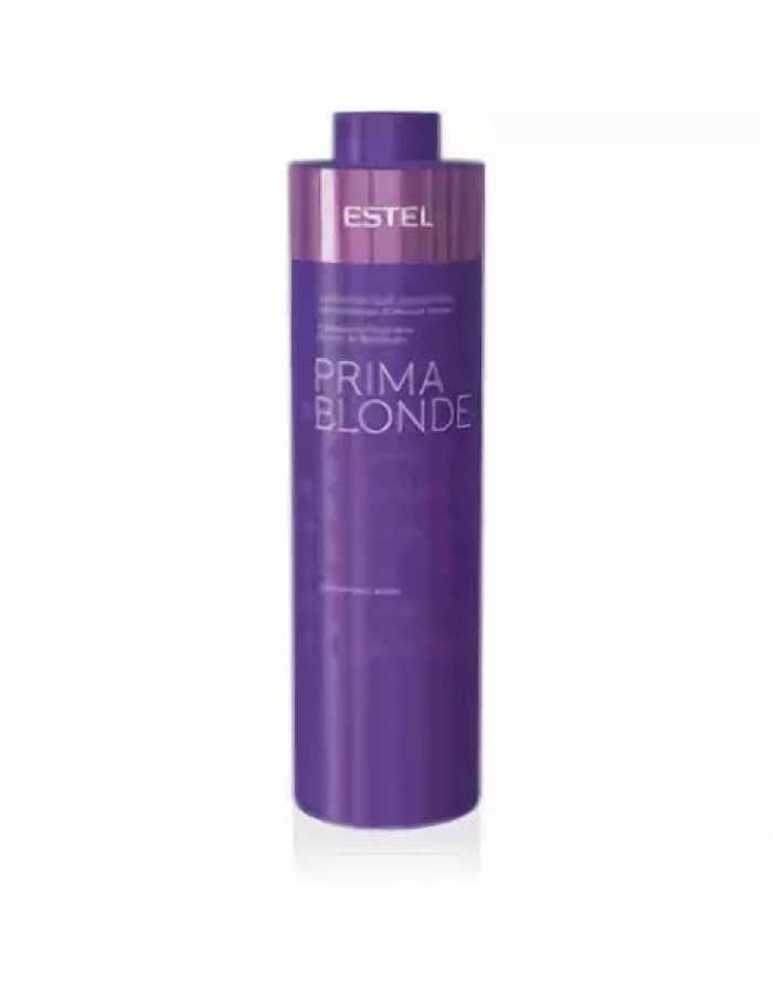 ESTEL  Шампунь PRIMA BLONDE Серебристый для светлых волос для холодных оттенков блонд, 1000 мл