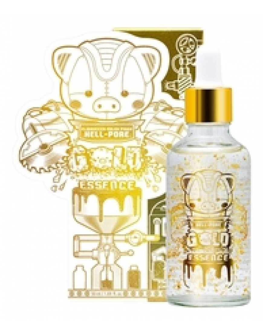 Elizavecca Эссенция для лица с Золотом Milky Piggy Hell-Pore Gold Essence, 50мл