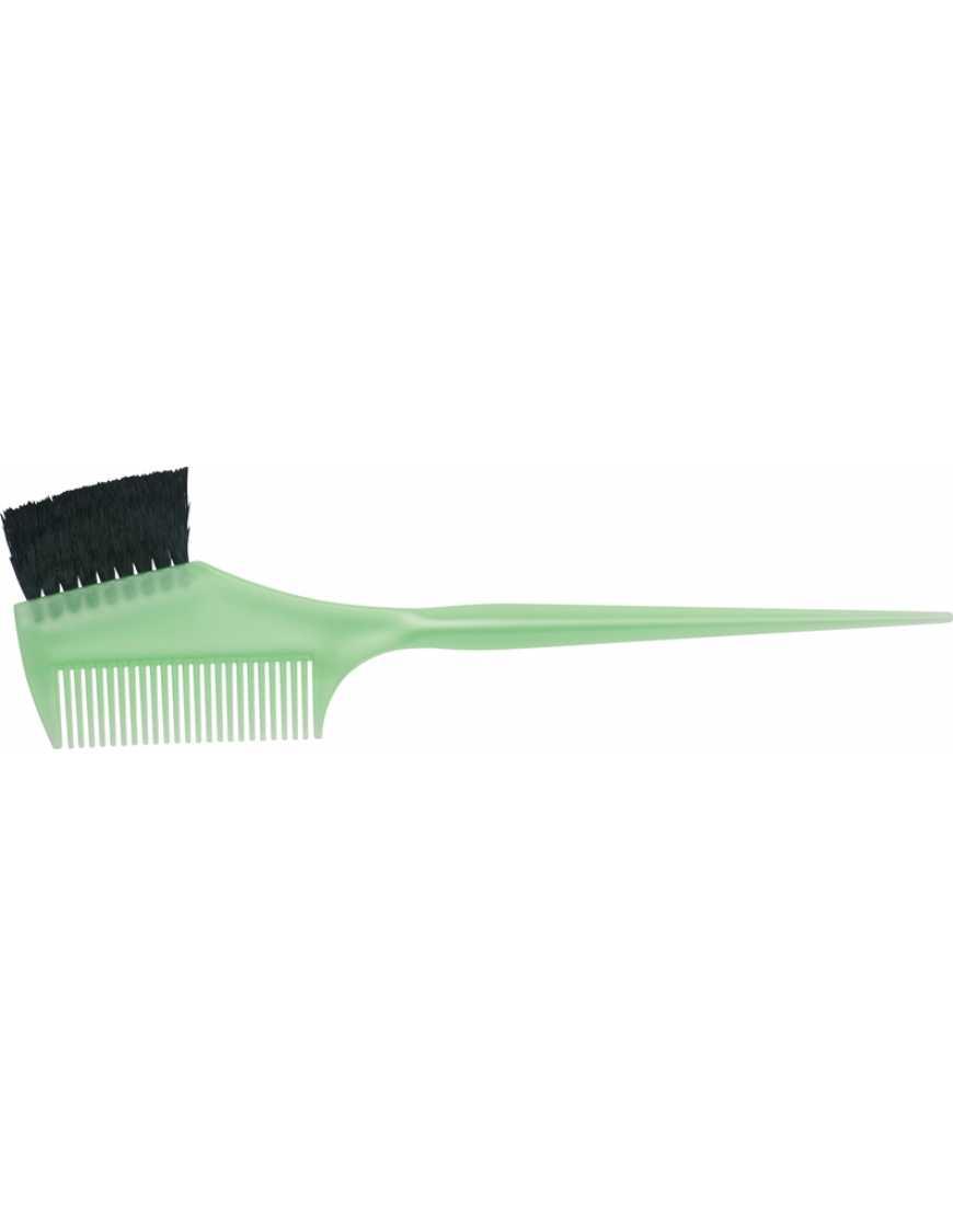 Кисть Dewal JPP049  green для окраски с расческой