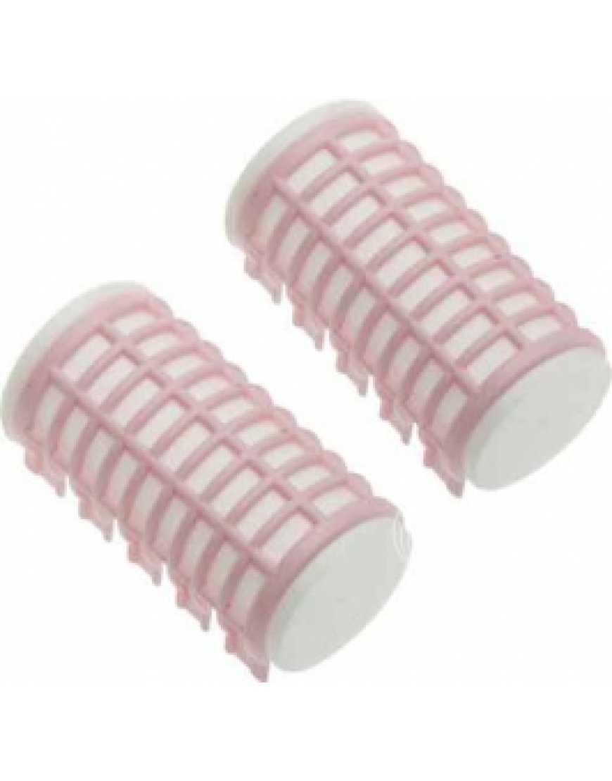 Бигуди DBTR32 термо Dewal Beauty розовые 32*68мм