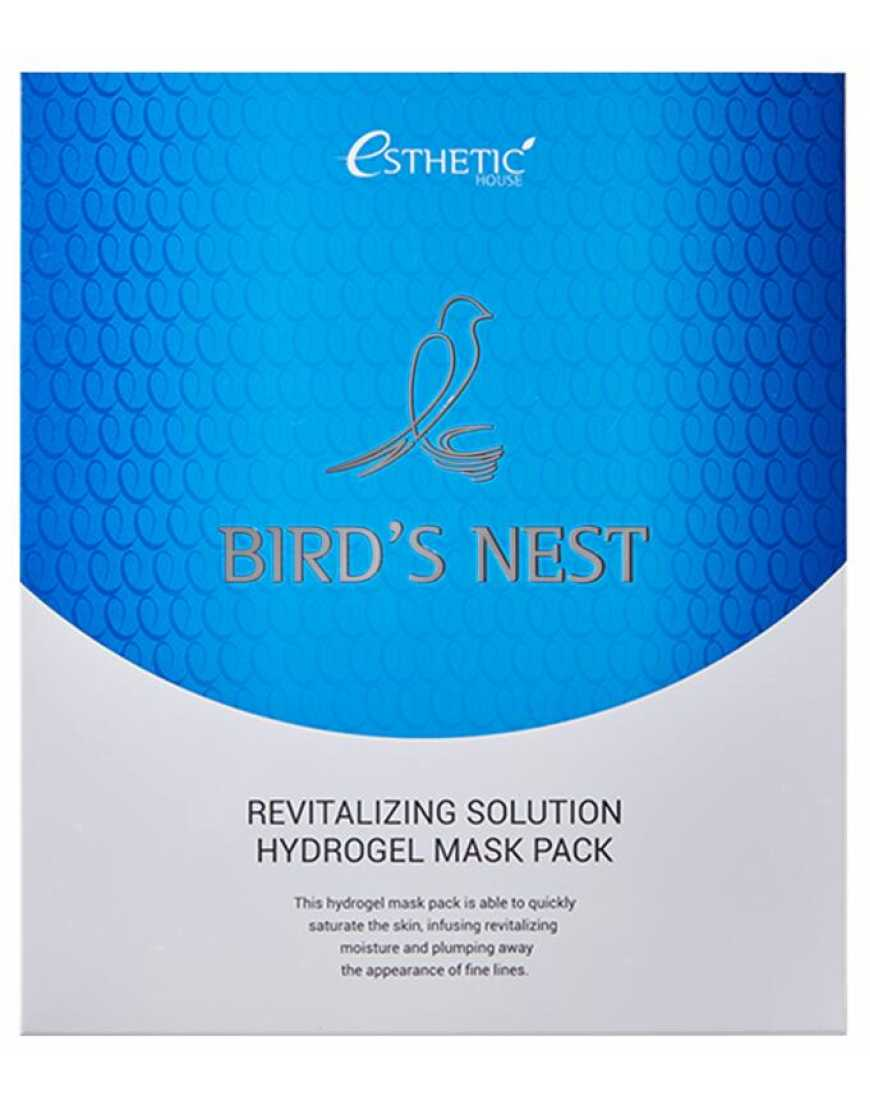 Esthetic House Гидрогелевая маска для лица Ласточкино гнездо Bird's nest revitalizing hydrogel mask pask