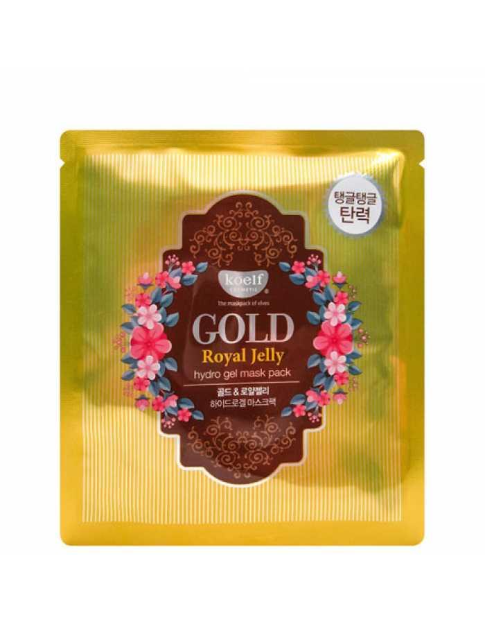 Koelf Гидрогелевая маска для лица с золотом и маточным молочком Gold & Royal jelly mask