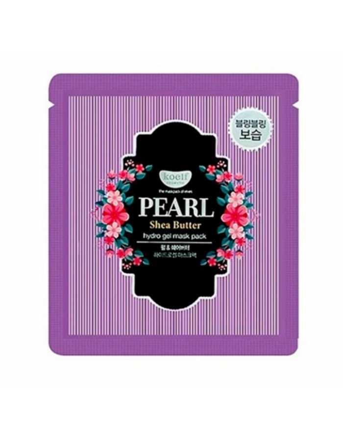 Koelf Гидрогелевая маска для лица с маслом ши и жемчужной пудрой Pearl & shea butter