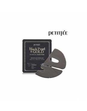 Petitfee Гидрогелевая маска для лица  жемчуг&золото