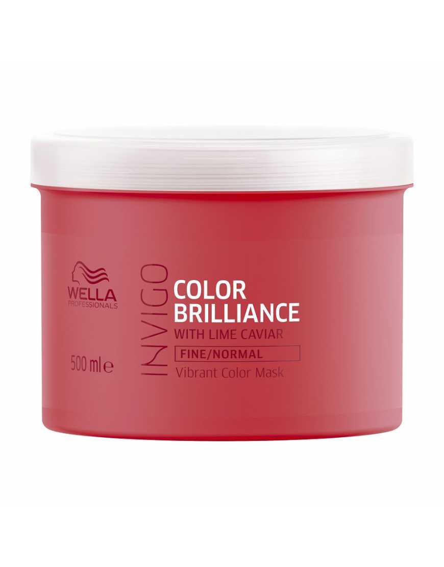 Маска-уход Wella Professionals Invigo Color Brilliance для защиты цвета окрашенных нормальных и тонких волос, 500 мл