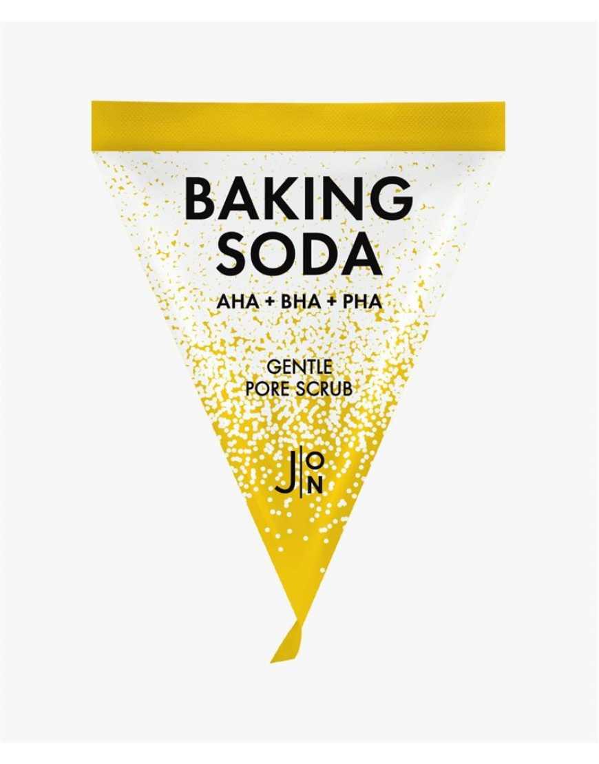 J:ON Скраб для лица с содой BAKING SODA GENTLE PORE SCRUB 5 гр