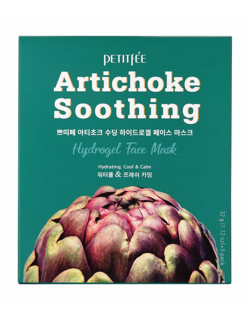 PETITFEE Маска д/лица гидрогел. АРТИШОК Artichoke Soothing Hydrogel Face Mask 32 гр