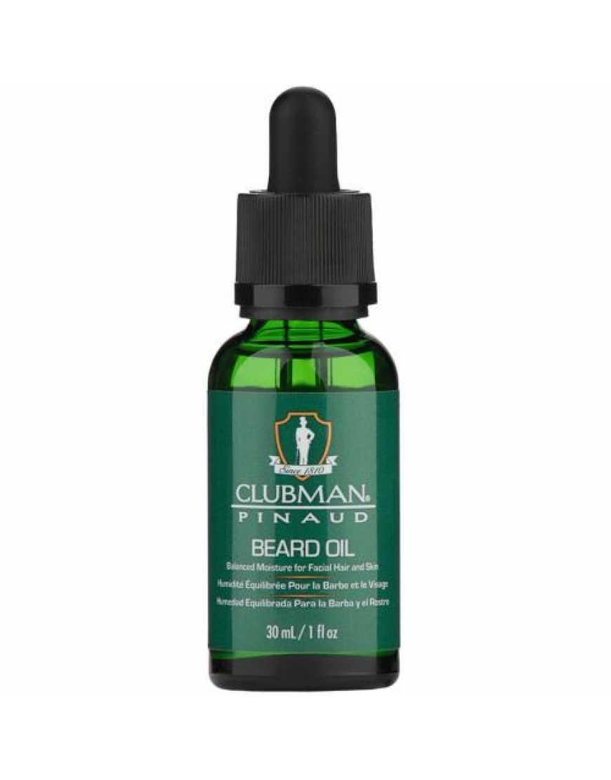 Масло Clubman Beard Oil для бороды с добавлением арганы 30 мл