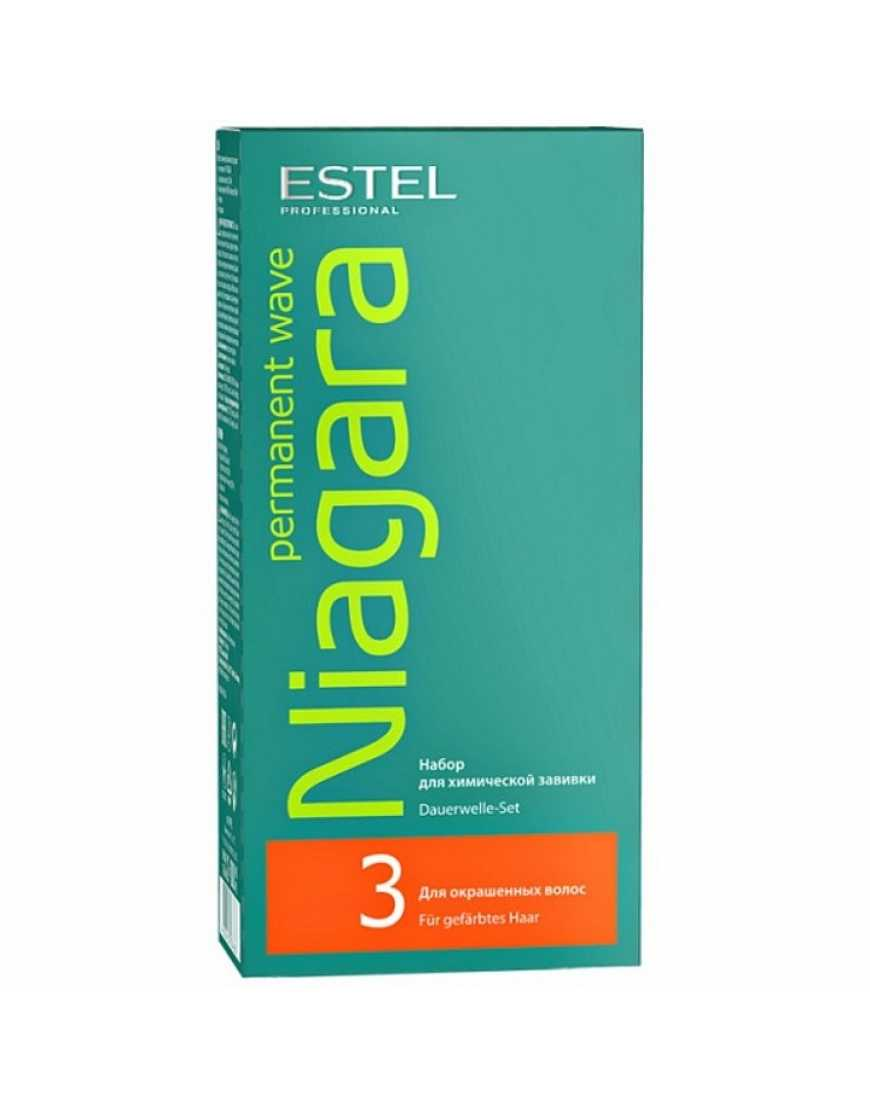 Estel набор Био-перманент Niagara N3 для окрашенных волос
