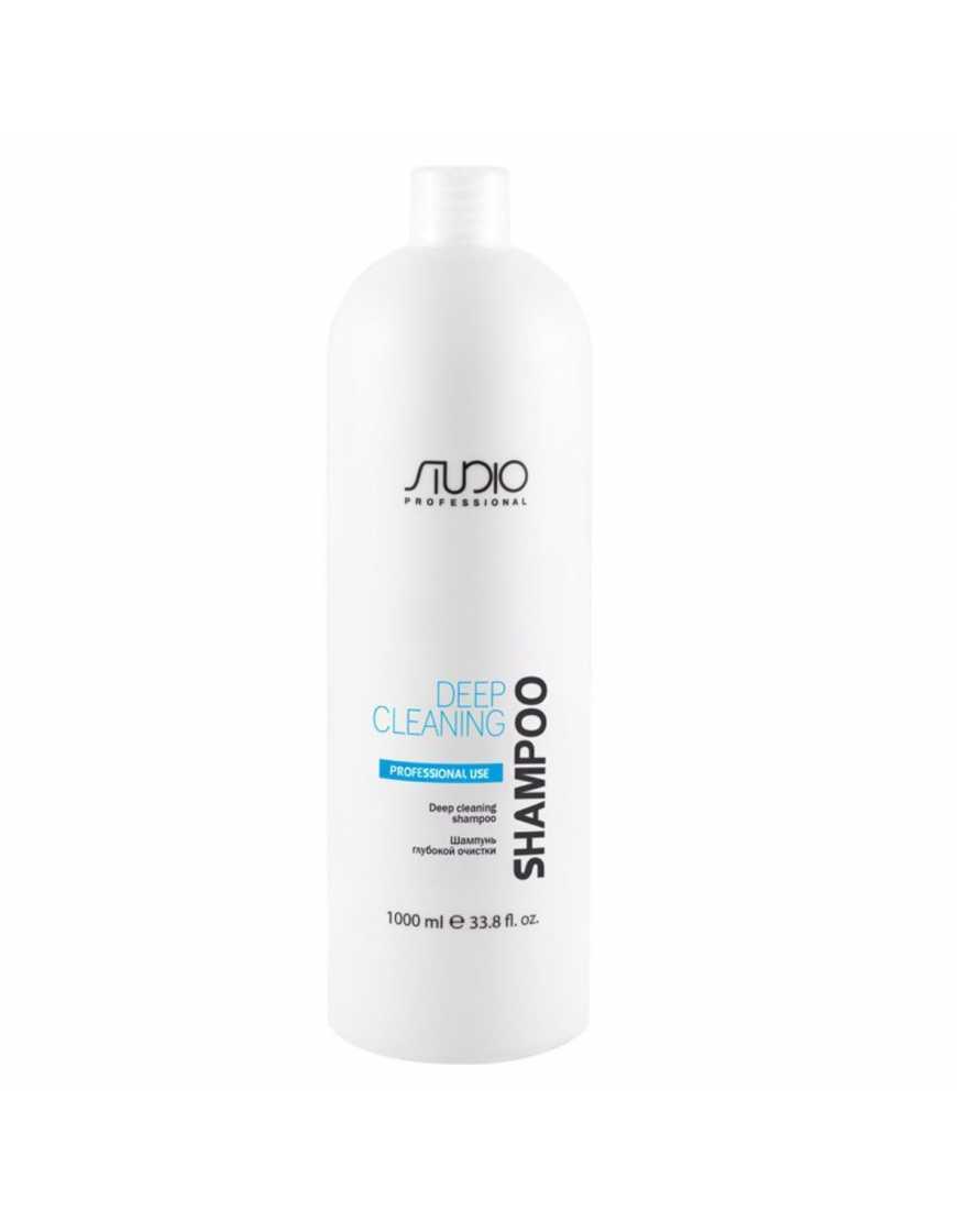 Kapous Professional Шампунь глубокой очистки для всех типов волос Studio Professional 1л