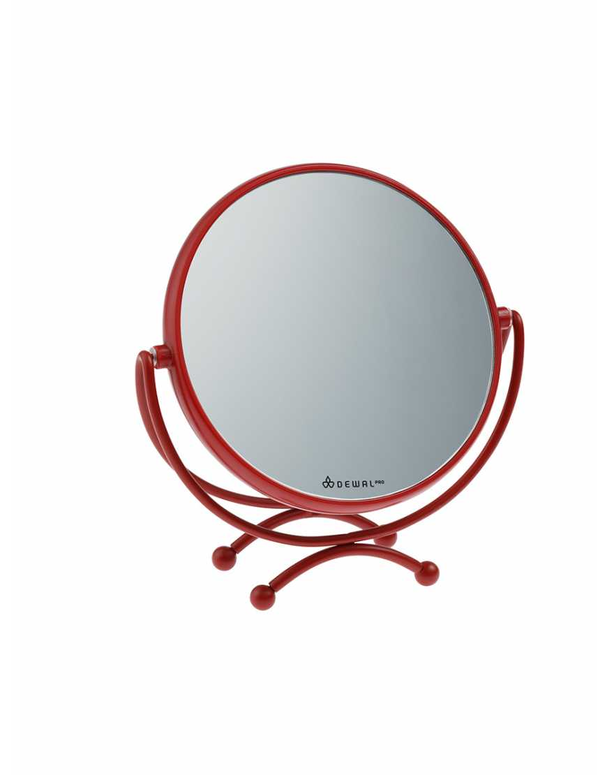 DEWAL Зеркало MR-320red в красной оправе