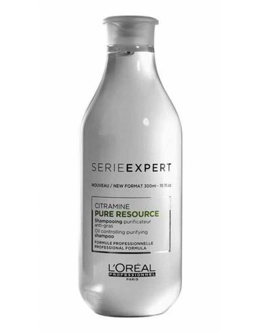 L'Oreal Professionnel Serie Expert Pure Resource Шампунь глубокой очистки, 300 мл