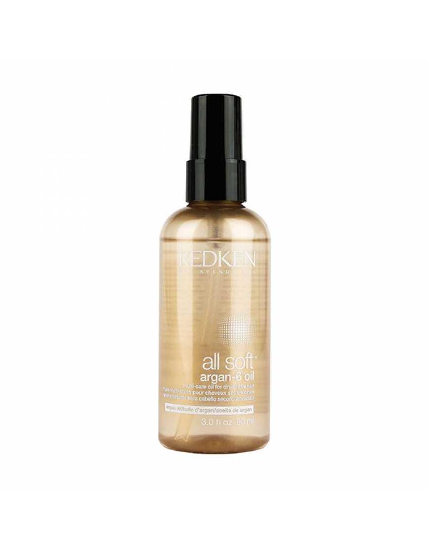Redken All Soft Аргановое масло для блеска и восстановления волос, 90 мл