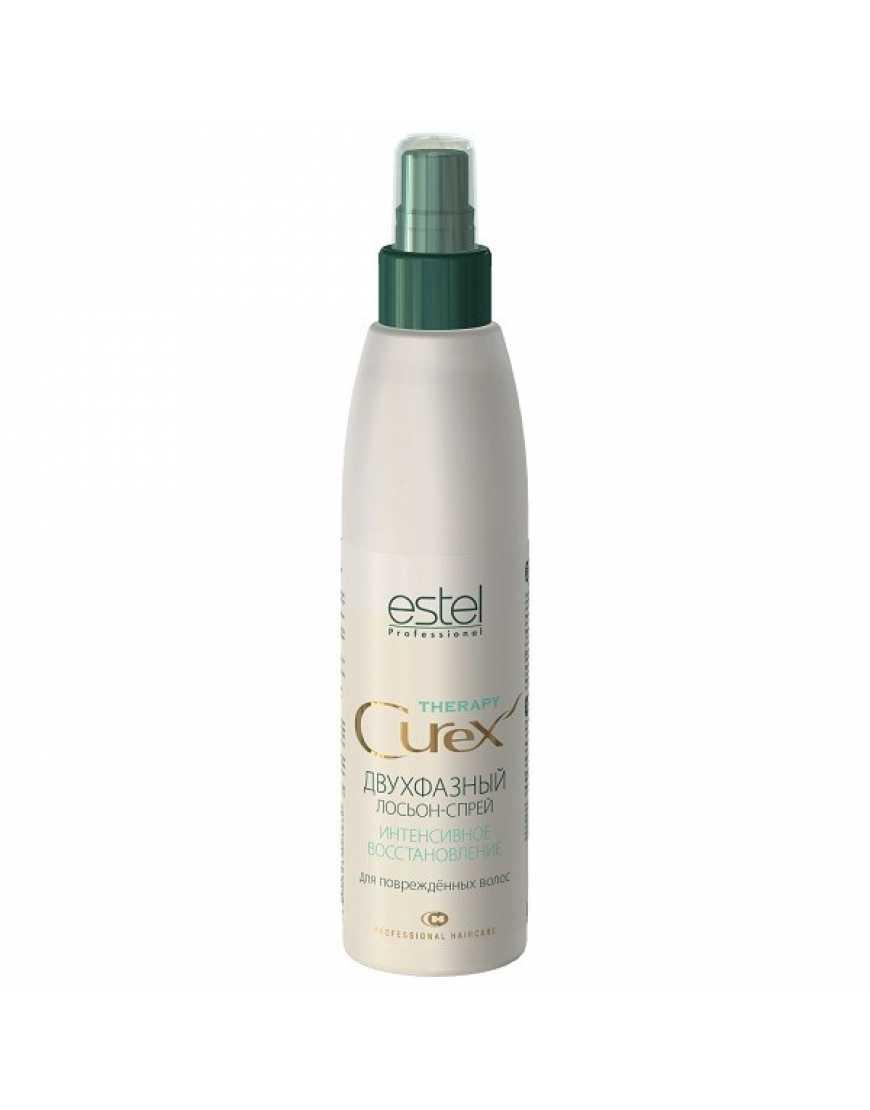 ESTEL Curex Therapy Двухфазный лосьон-спрей Интенсивное восстановление для поврежденных волос, 200 мл