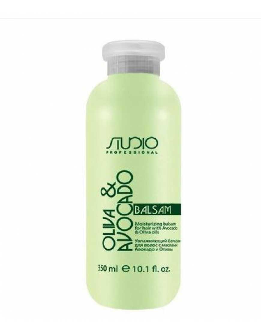 Kapous Professional Увлажняющий бальзам для волос с маслом Авокадо и Оливы, 350 мл