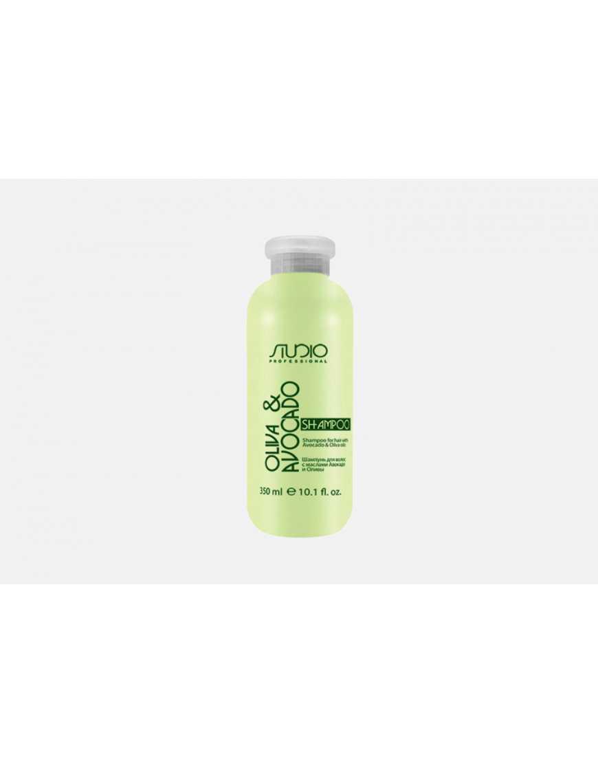 Kapous Professional Шампунь для волос с маслом Авокадо и Оливы, 350  мл