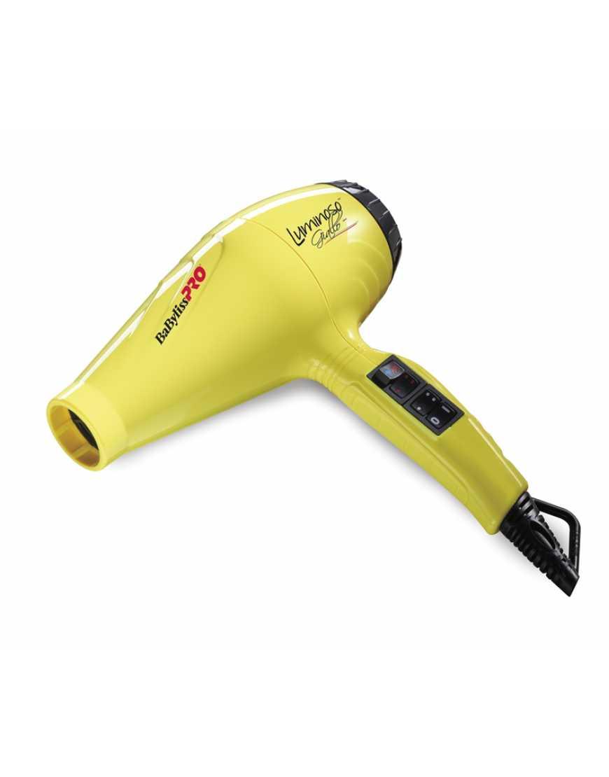 Фен BaByliss Pro LUMINOSO желтый BAB6350IYE 2100 Вт