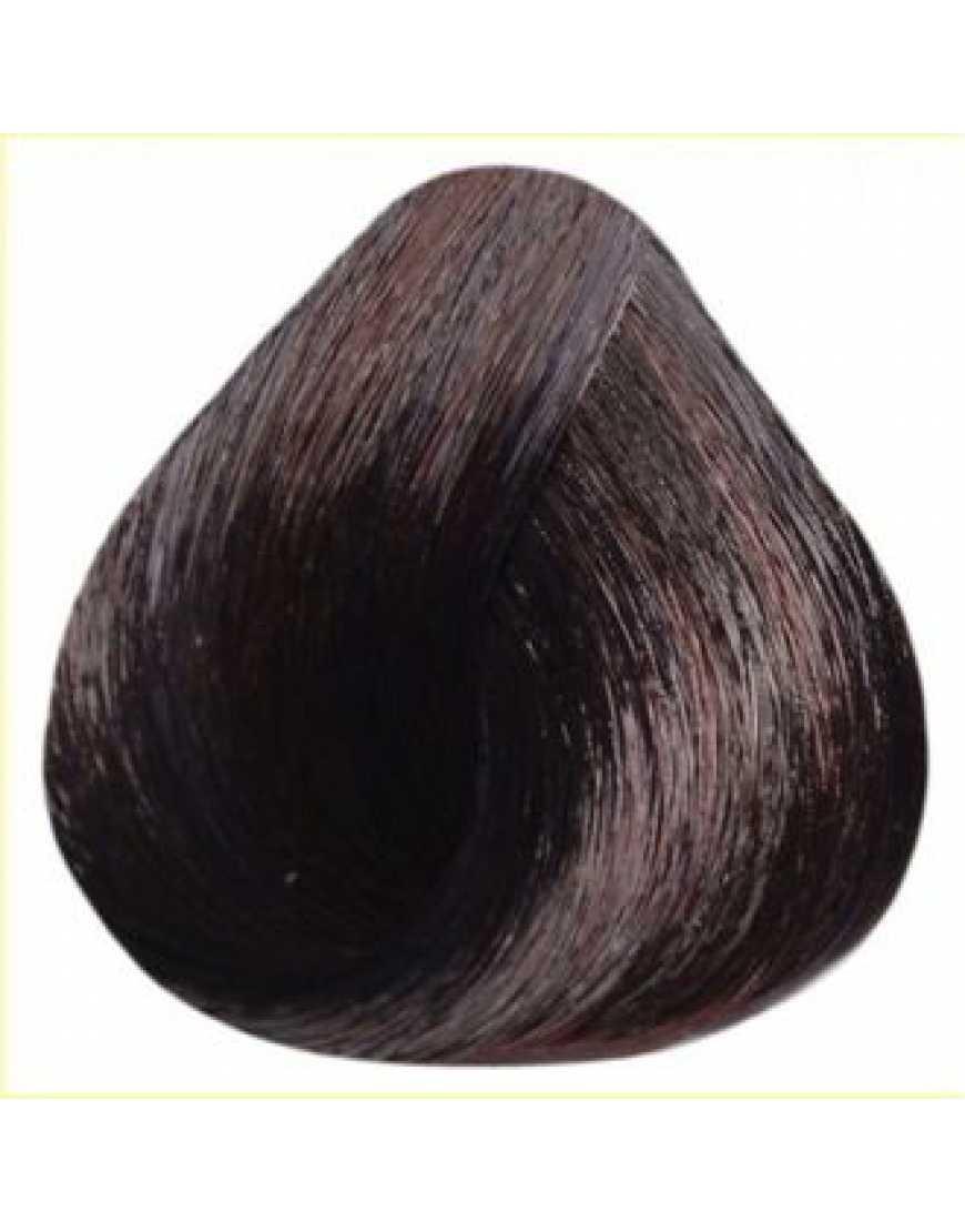 Estel Крем-краска для волос 4/76 DeLux Silver, шатен коричнево-фиолетовый 60 мл